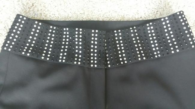 Cache Studded Flare Pants Black