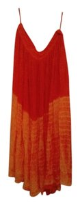Uniti Casual Maxi Skirt ORANGE