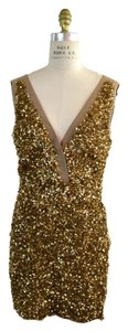 Stella McCartney Sequined Sheath Bodycon Silk Celeb Dress