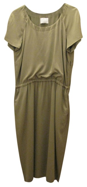 Preload https://item1.tradesy.com/images/roberto-cavalli-olive-green-knee-length-night-out-dress-size-12-l-10151530-0-1.jpg?width=400&height=650