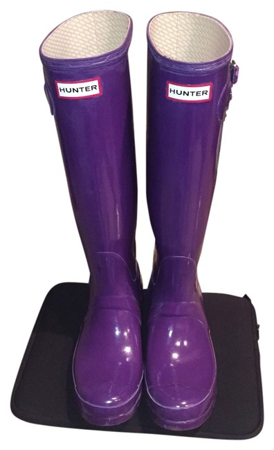 Item - Purple Boots/Booties Size US 8 Regular (M, B)