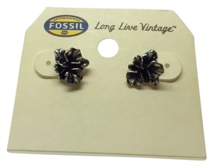 Fossil Fossil Earrings Black/grey brust Earrings