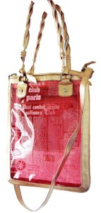 John Galliano Tote in Pink translucent
