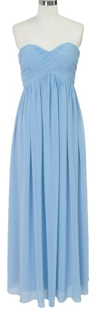 Preload https://item3.tradesy.com/images/blue-strapless-sweetheart-chiffon-long-night-out-dress-size-0-xs-1015257-0-0.jpg?width=400&height=650