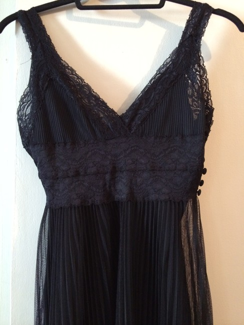 Forever 21 Lace Pleated Dress