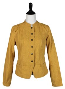 Christopher & Banks Mustard Yellow Blazer