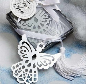 100 Gift Of Angel Bookmark Favors