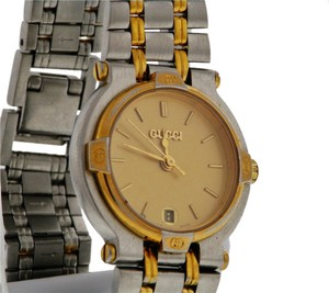 Gucci GUCCI ST lady's 9000L quartz date bracelet watch