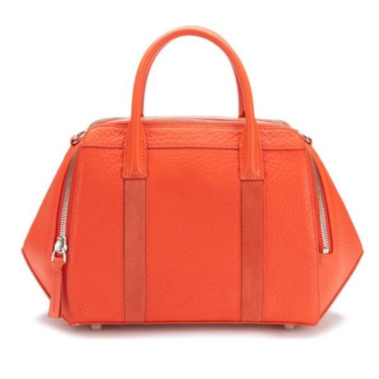 Mackage Deva Grained Leather Convertible Handbag Handbag Convertible Handbag Leather Handbag Deva Grained Leather Satchel in Coral