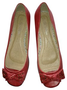 De Blossom Collection Peep Coral/Pink Flats