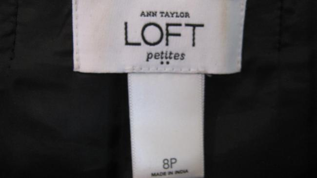 Ann Taylor LOFT Pleated Neck Sheath Dress