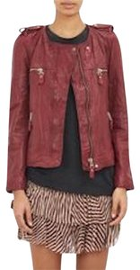 Isabel Marant Leather Kady Leather Jacket