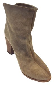 Fiorentini + Baker Suede Warm Taupe Boots