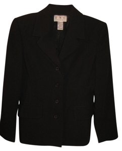 INC International Concepts Classic Black Blazer