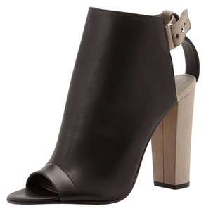Vince Bootie Two-tone black Boots