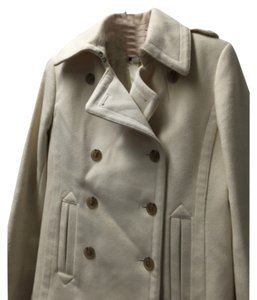 Jcrew cream peacoat Pea Coat