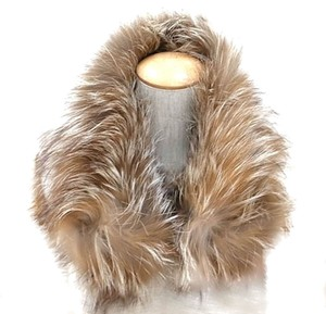 Fendi Authentic Fendi Fox Fur Muffler