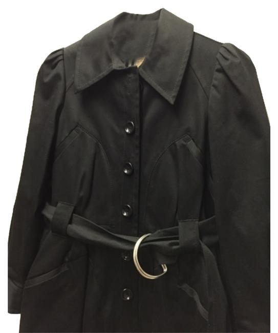 Preload https://item3.tradesy.com/images/anthropologie-black-trench-coat-size-2-xs-10155787-0-1.jpg?width=400&height=650