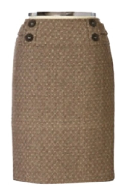 Item - Brown Skirt Size 6 (S, 28)