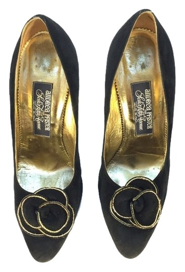 Preload https://item2.tradesy.com/images/andrea-pfister-couture-black-for-saks-fifth-avenue-pumps-size-us-7-regular-m-b-10156051-0-1.jpg?width=440&height=440