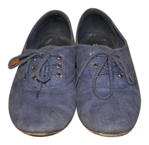 Dirty Laundry Loafer Style Denim Blue Flats