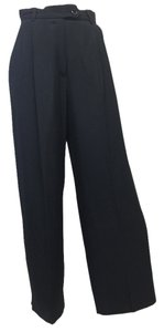 Moschino Cheap And Chic Navy Baby Slacks Straight Pants