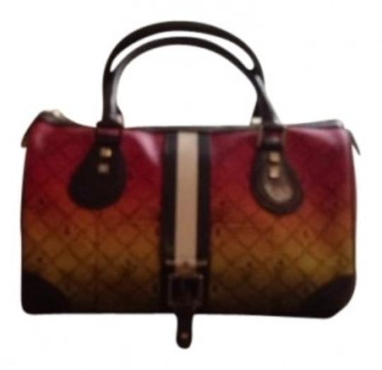 Preload https://item3.tradesy.com/images/lamb-lamb-rasta-mandeville-green-red-yellow-with-black-white-and-brown-pvc-satchel-10157-0-0.jpg?width=440&height=440