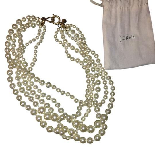 J.Crew J crew multi strand pearl necklace