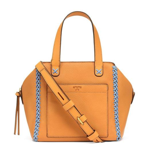 Preload https://item2.tradesy.com/images/tory-burch-whipstitch-mini-camello-leather-satchel-10157176-0-1.jpg?width=440&height=440