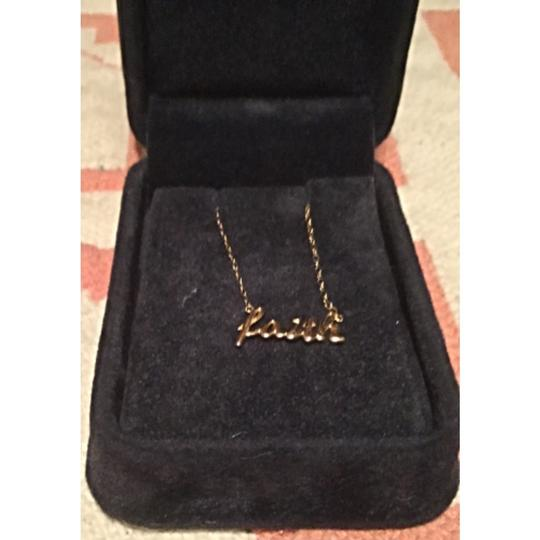 Other Faith/14KT Yellow Gold Inspirational Necklace