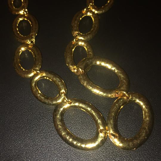 Italian gold necklace