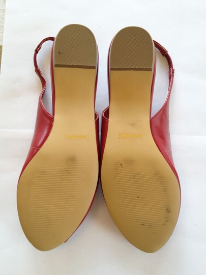Restricted Red Sandals