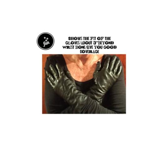 Neiman Marcus Purchase Gentle Used/DRIVING GLOVES/100% Leather/Cashmere Image 6