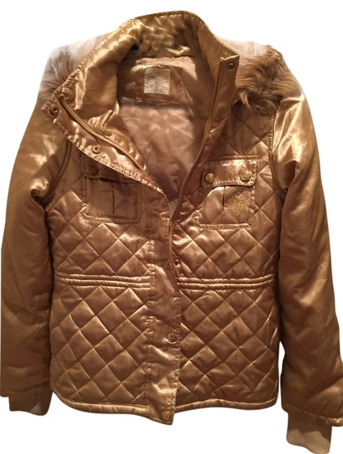 Preload https://item3.tradesy.com/images/south-pole-collection-light-gold-puffyski-coat-size-6-s-10157692-0-1.jpg?width=400&height=650