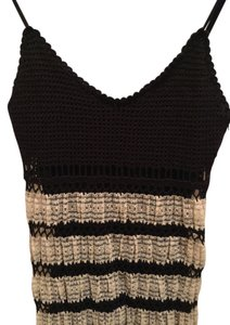 Betsey Johnson Crocheted With Lace Dress