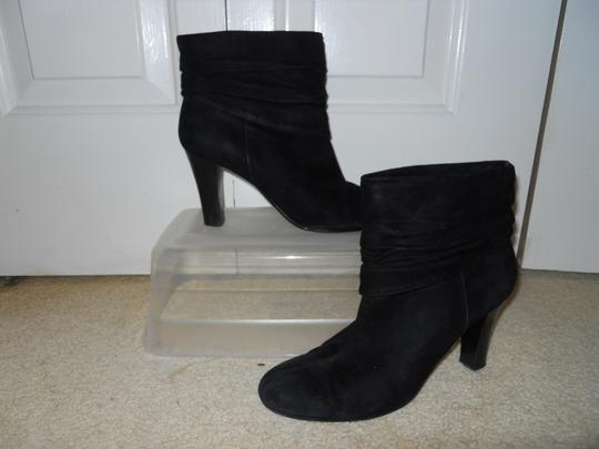 Nine West Leather Suede black Boots