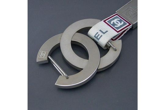Chanel FATHERS DAY GIFT Just reduced) Authentic Chanel Logo Ltd Edition Sports line Key holder
