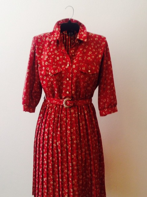 Vintage short dress on Tradesy