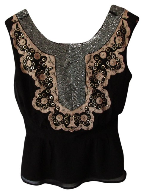Preload https://item5.tradesy.com/images/french-connection-black-cocktail-blouse-size-2-xs-10159954-0-1.jpg?width=400&height=650