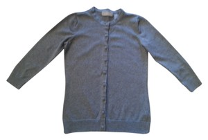 Liz Claiborne Cardi Grey Sweater Cardigan