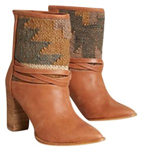 Anthropologie Howsty Howsty Kilim Kilim Brown Boots