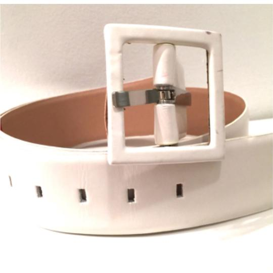 Nine West Leather Square Buckle Image 1