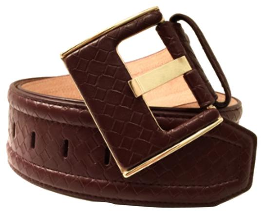 Preload https://item1.tradesy.com/images/brown-square-buckle-braided-embossed-size-l-belt-10160545-0-1.jpg?width=440&height=440