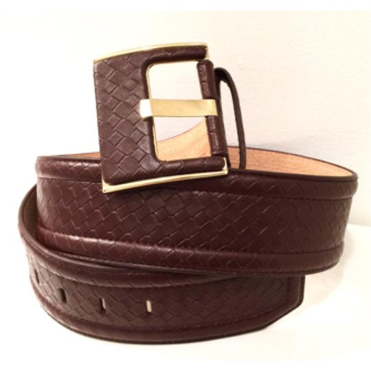 Other Square Buckle Braided Embossed Size L Image 1