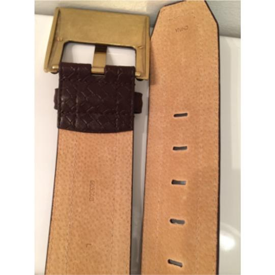 Other Square Buckle Braided Embossed Size L