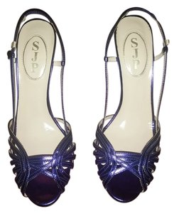 SJP Sarah Jessica Parker Purple Pumps