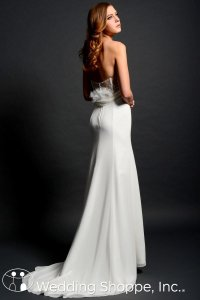 Eden White Sl037 Wedding Dress Size 8 (M)