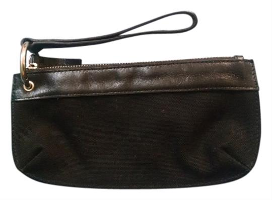 Preload https://item4.tradesy.com/images/banana-republic-black-canvas-and-leather-wristlet-10161838-0-1.jpg?width=440&height=440