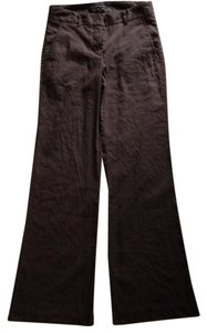 Theory Wide Leg Pants Chocolate Brown