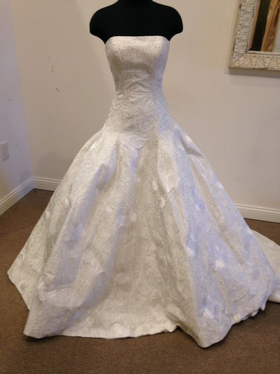 Preload https://item3.tradesy.com/images/ivory-silver-embroidered-taffeta-beatrice-by-vintage-wedding-dress-size-10-m-10162717-0-0.jpg?width=440&height=440